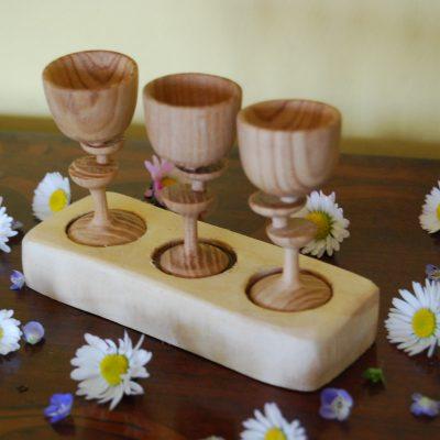 Bicchierini in legno
