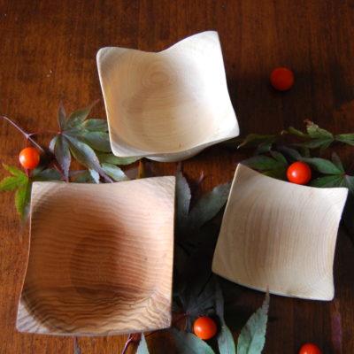 Vasetti squadrati in legno