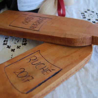 Taglieri in legno pirografati