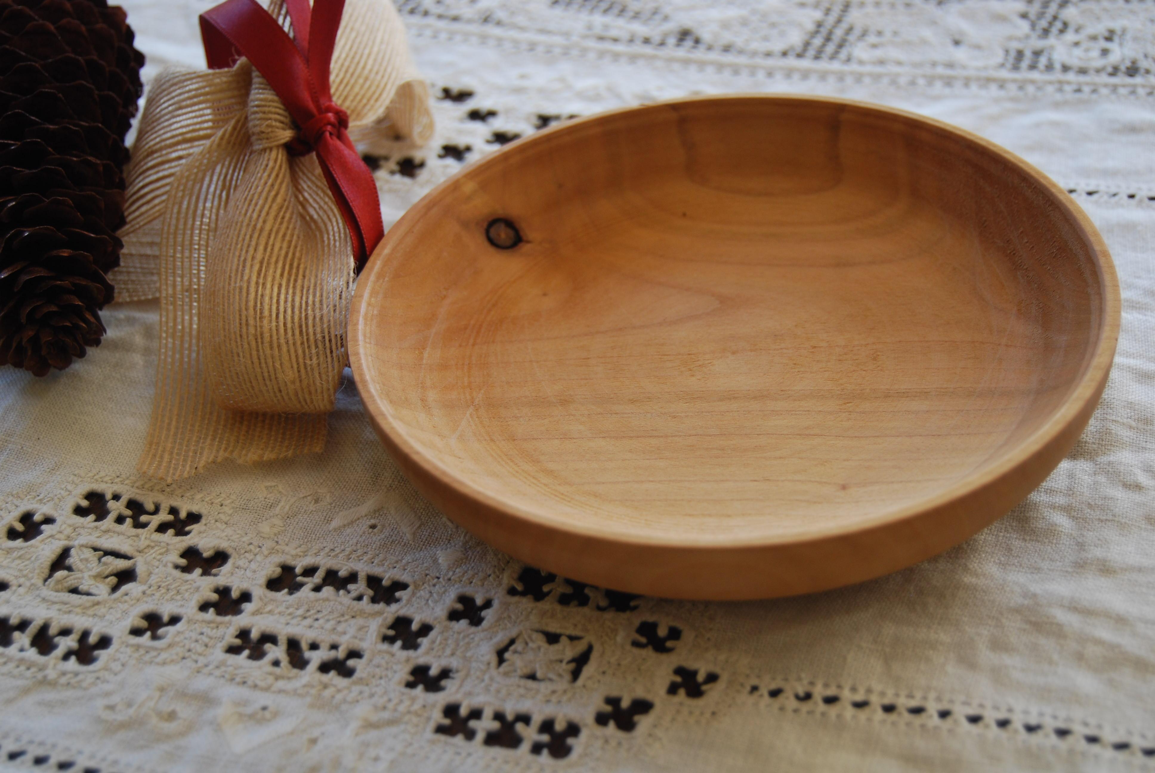 Piatto legno ciliegio