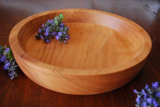 piatto in legno