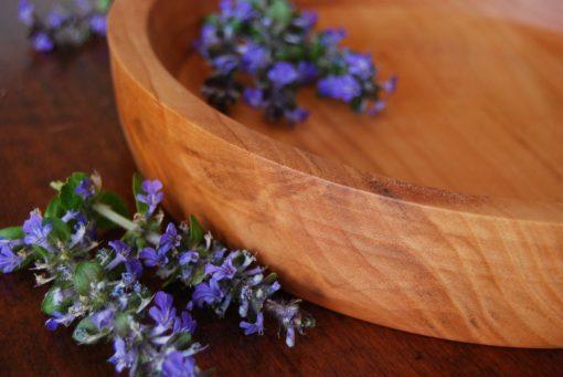 piatto in legno di ciliegio