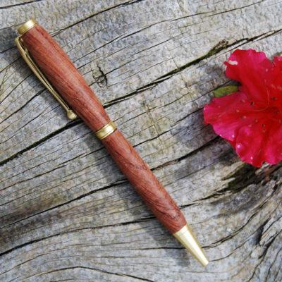 Penna in legno di palissandro personalizzata